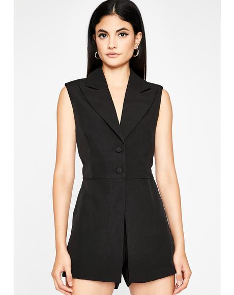 She Works It Sleeveless Romper