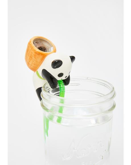 Panda Chuppon Basil Desk Plant