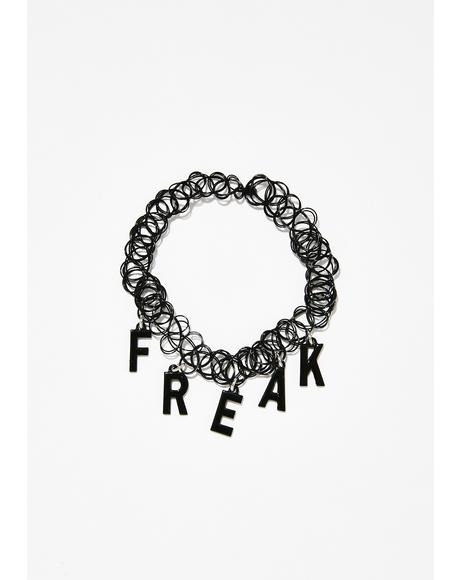 Freak Fantasy Tattoo Choker
