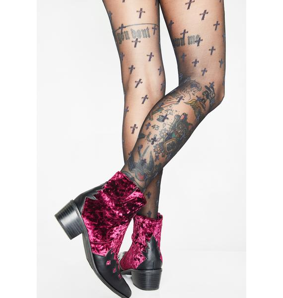 Higher Calling Cross Tights