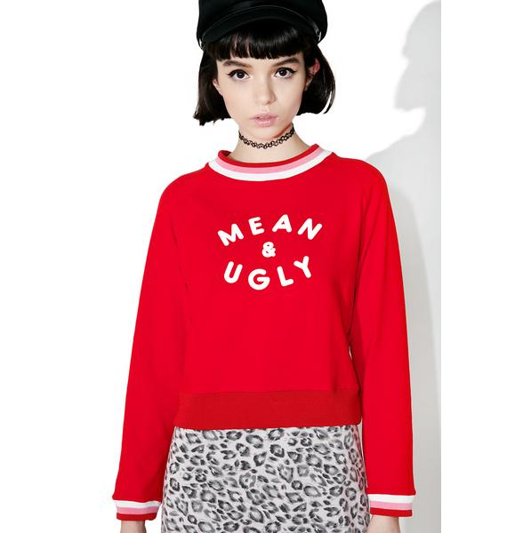 Valfré Mean And Ugly Sweatshirt