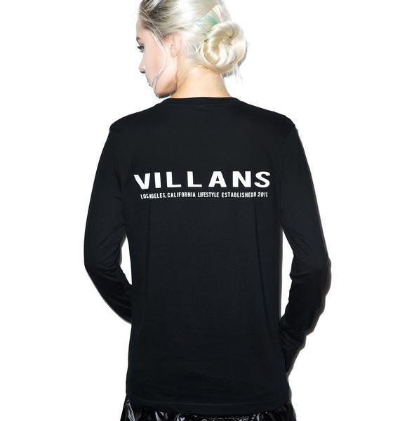 Villans Sample Long Sleeve Tee
