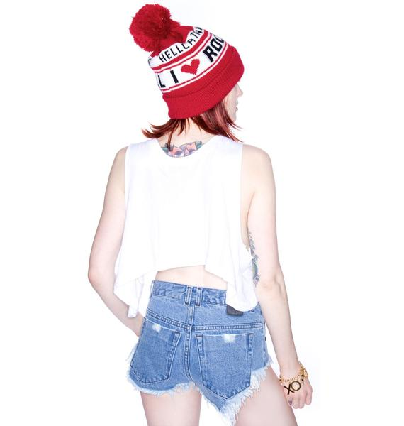 Wildfox Couture Land Of The Free Cropped Tank