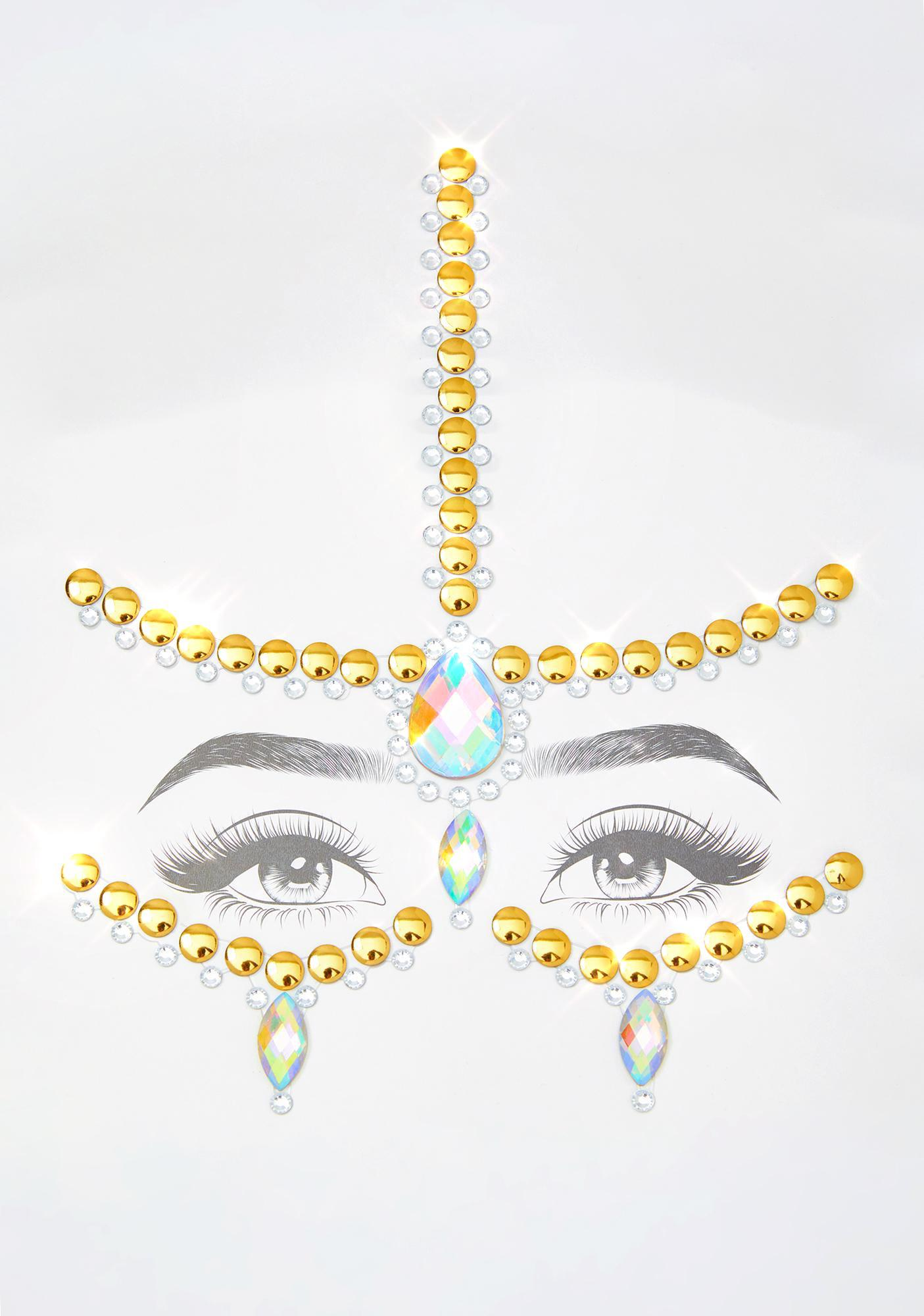 Goddess Charm Face Crystals