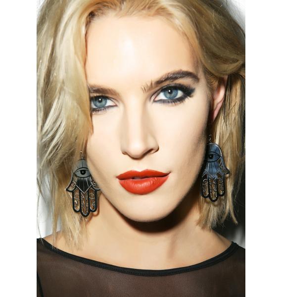 Killstar Hamsa Earrings