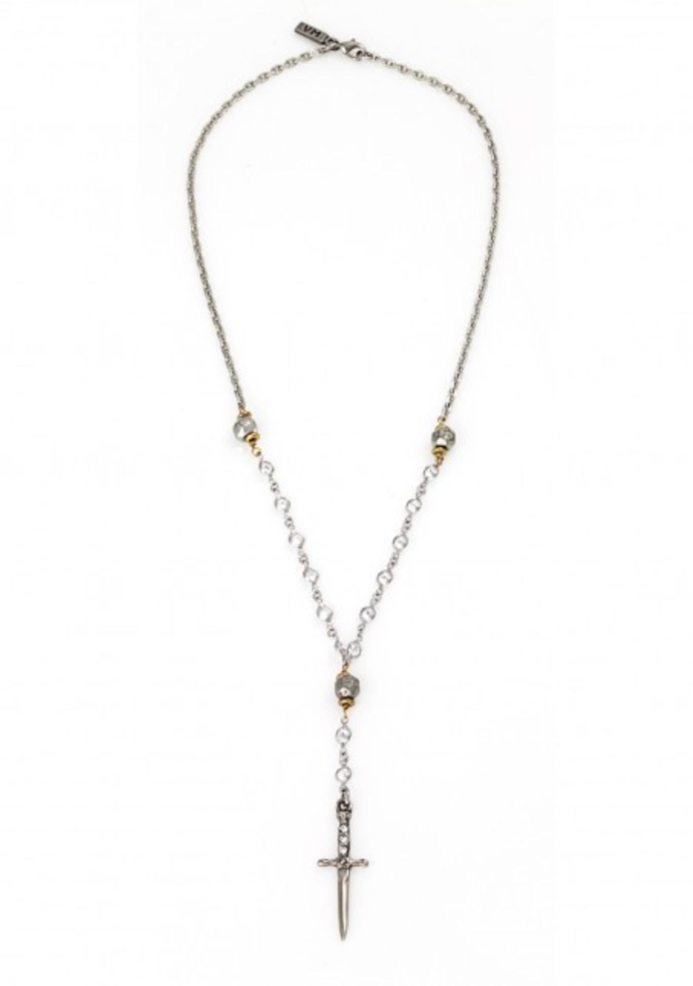Vanessa Mooney The Palladium Rosary Necklace