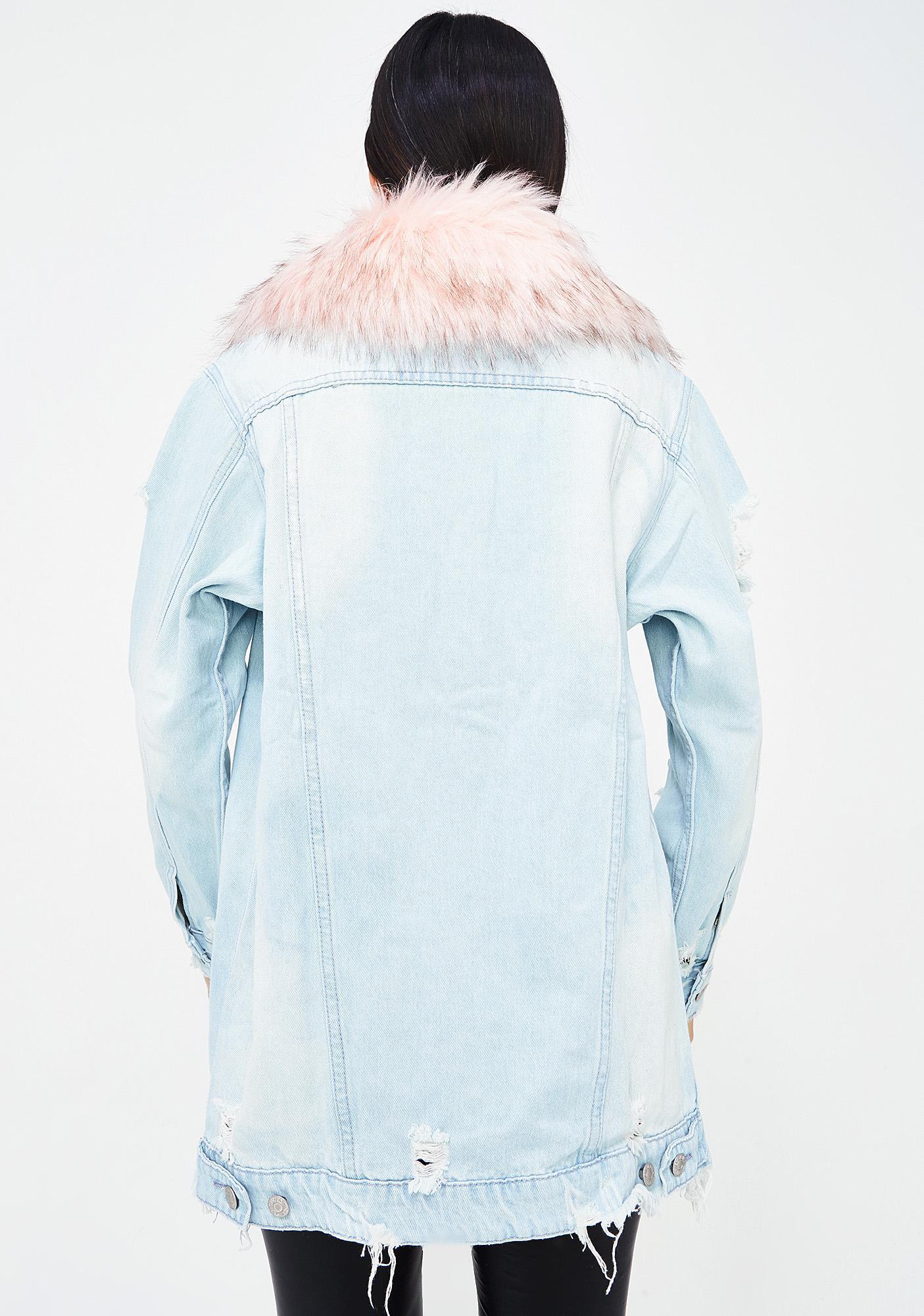 Frost Bite Denim Jacket