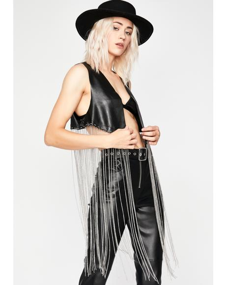 Roadhouse Wildin' Fringe Vest