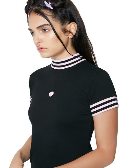 Sports Stripe Dress