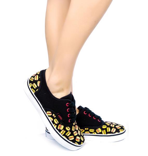 Burger Munchies Sneakers