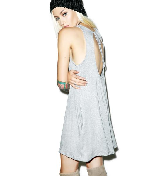 Gray Area Tank Dress