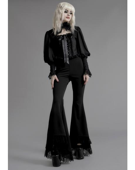 Divination Lace Bell Bottoms