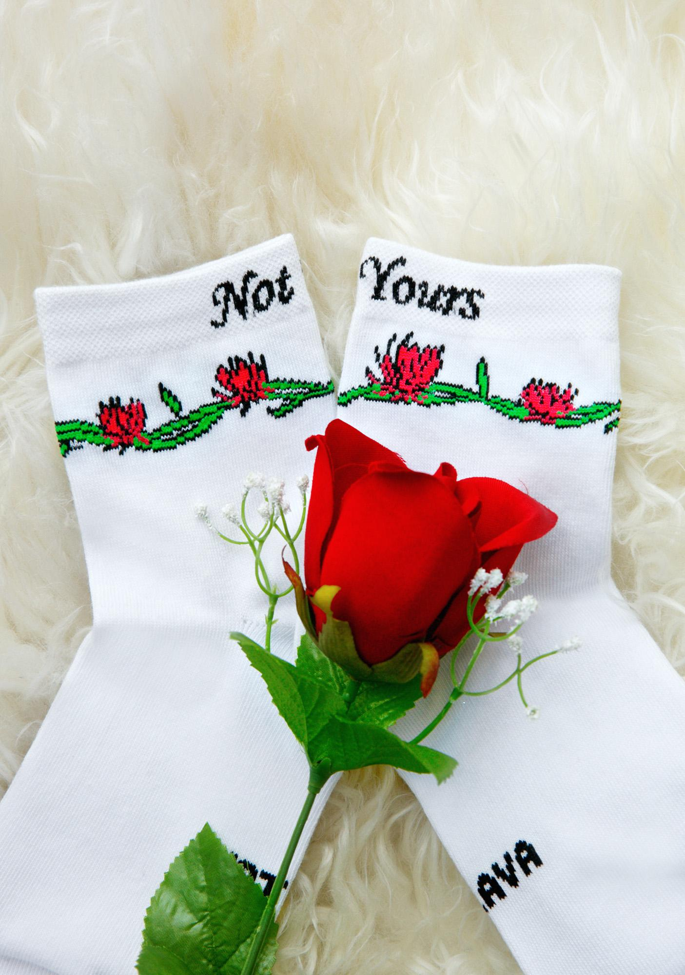 Not Yours Socks