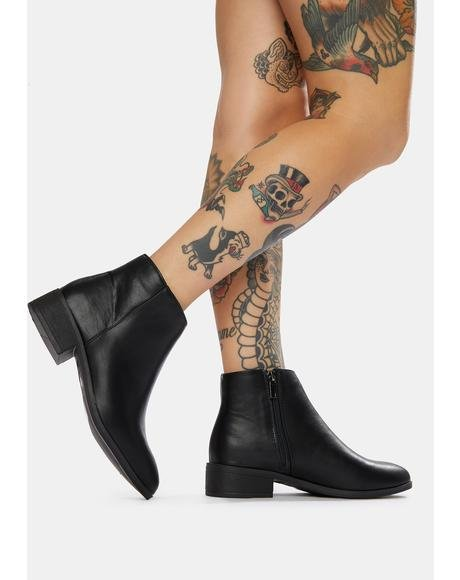 Onyx Just Walk Away Ankle Boots