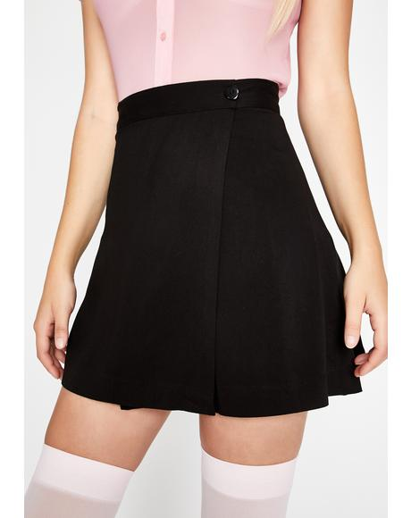 A-Plus Preppie Mini Skirt