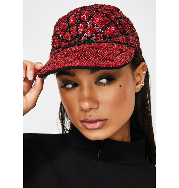 Replay Vintage Sunglasses Sequin Spider Hat