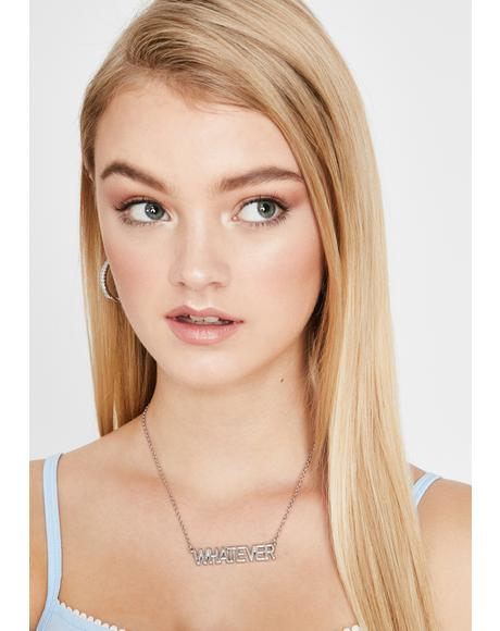 Whatever Forever Chain Necklace