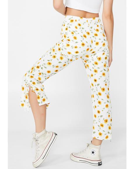 Sunflower Bae Capri Pants