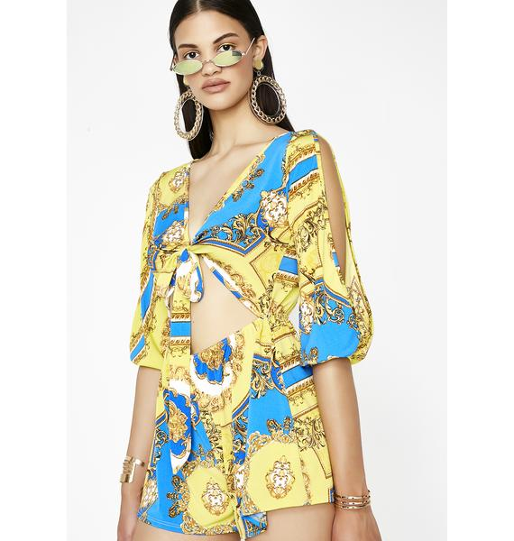 Flashier The Better Cutout Romper