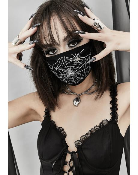 The Web You Weave Face Mask