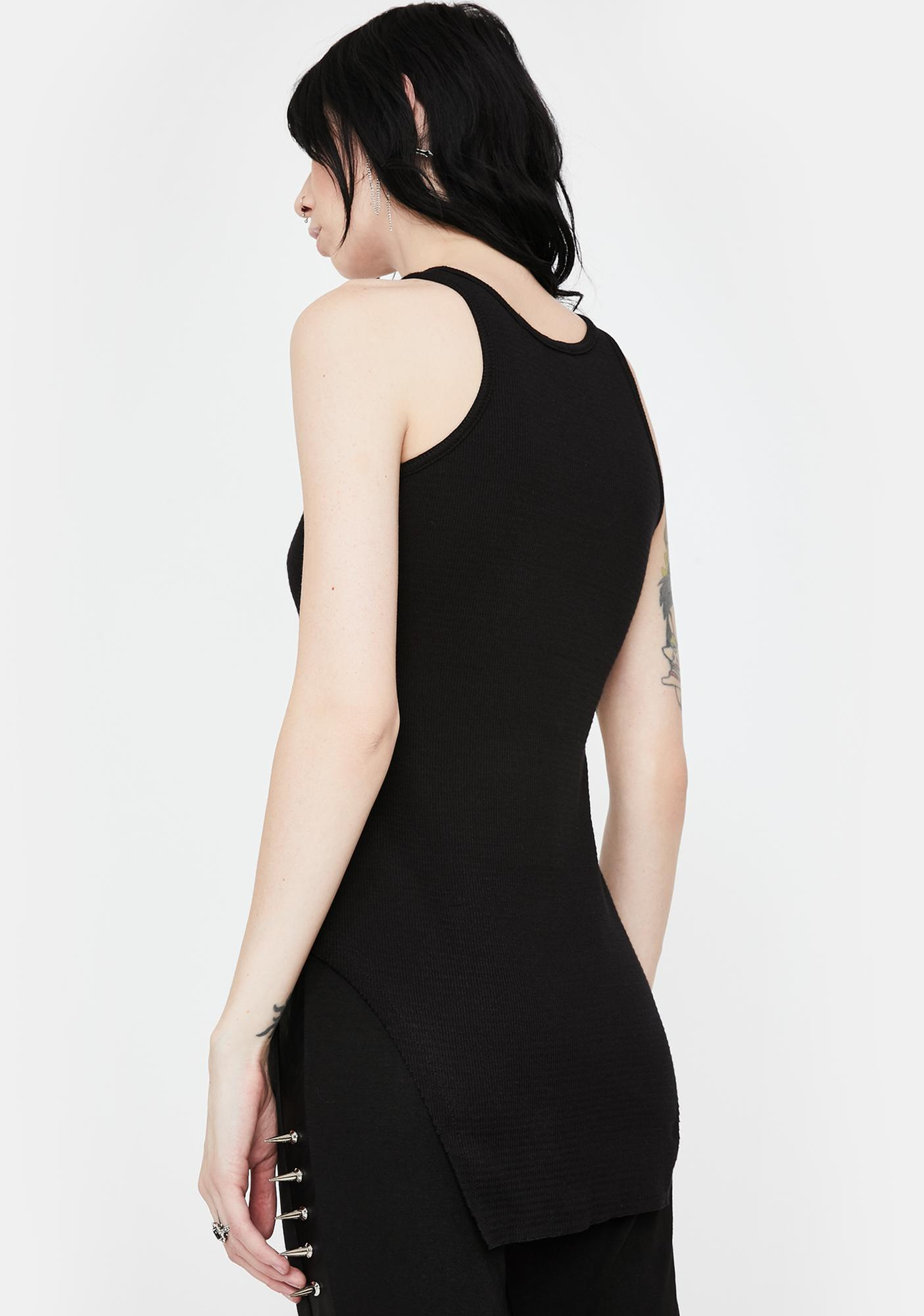 NOCTEX Thermal Squared Hem Tank Top