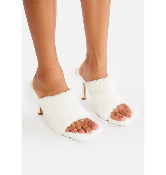 Princess And The Peep Toe Heels