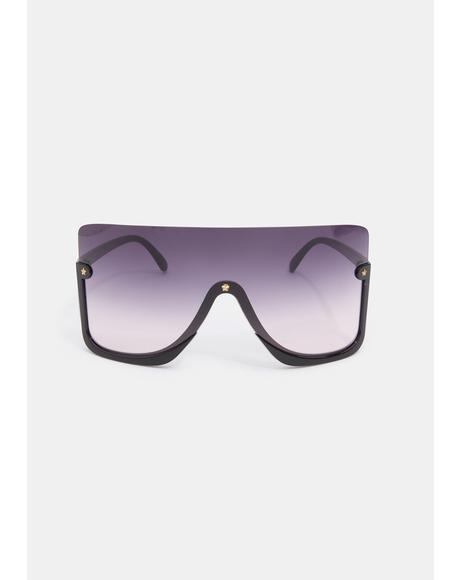 Broken Promises Oversized Sunglasses