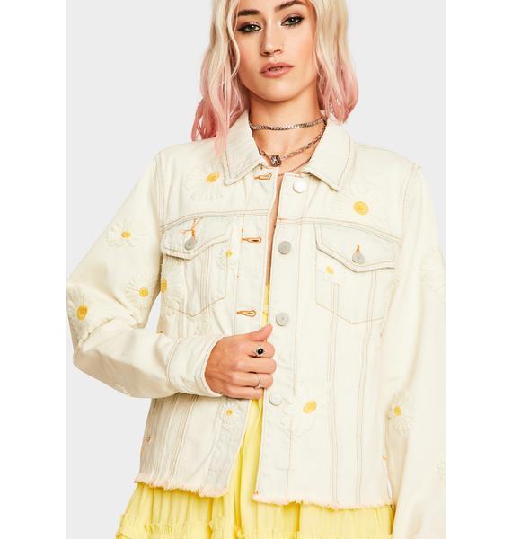 Blank NYC Daisy Vintage Wash Denim Jacket