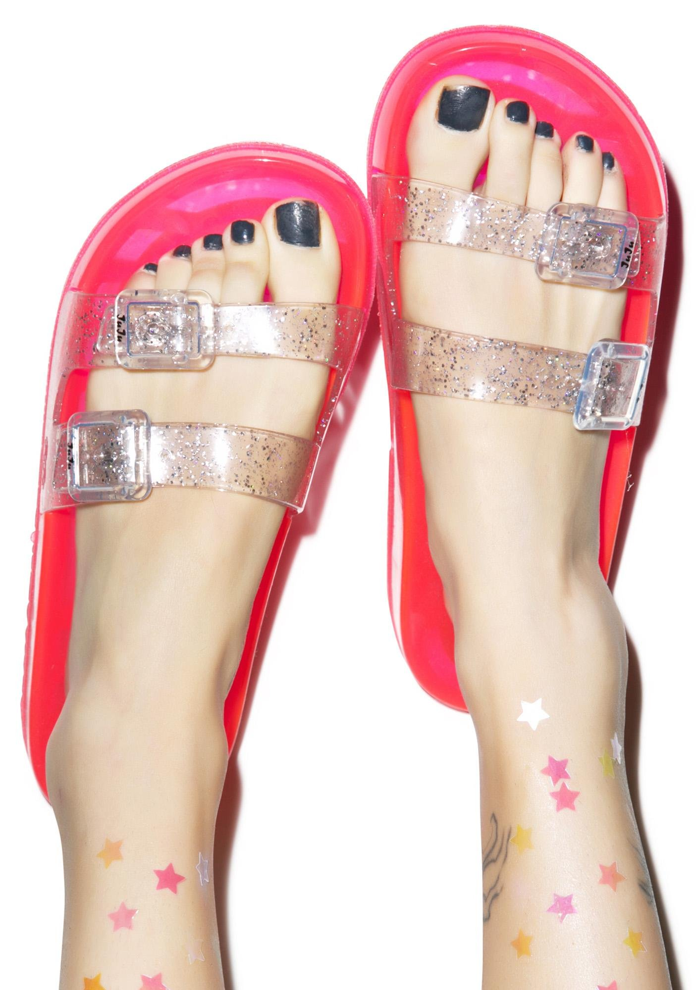 Juju Shoes Jelly Shotz Slip On Sandal