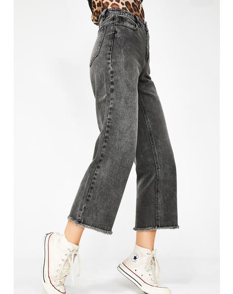 High N' Dry Crop Jeans