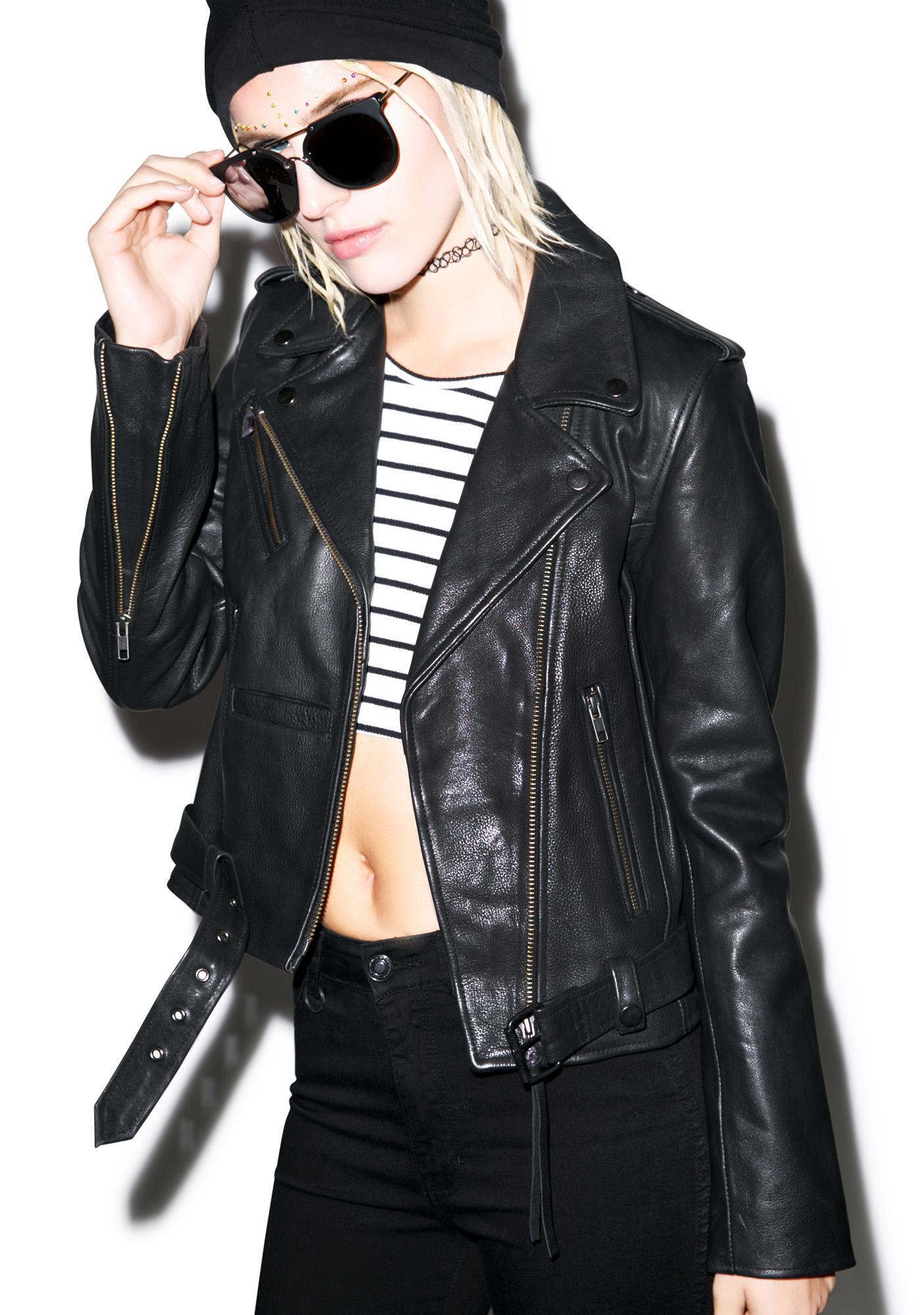 Neuw Berlin Leather Jacket