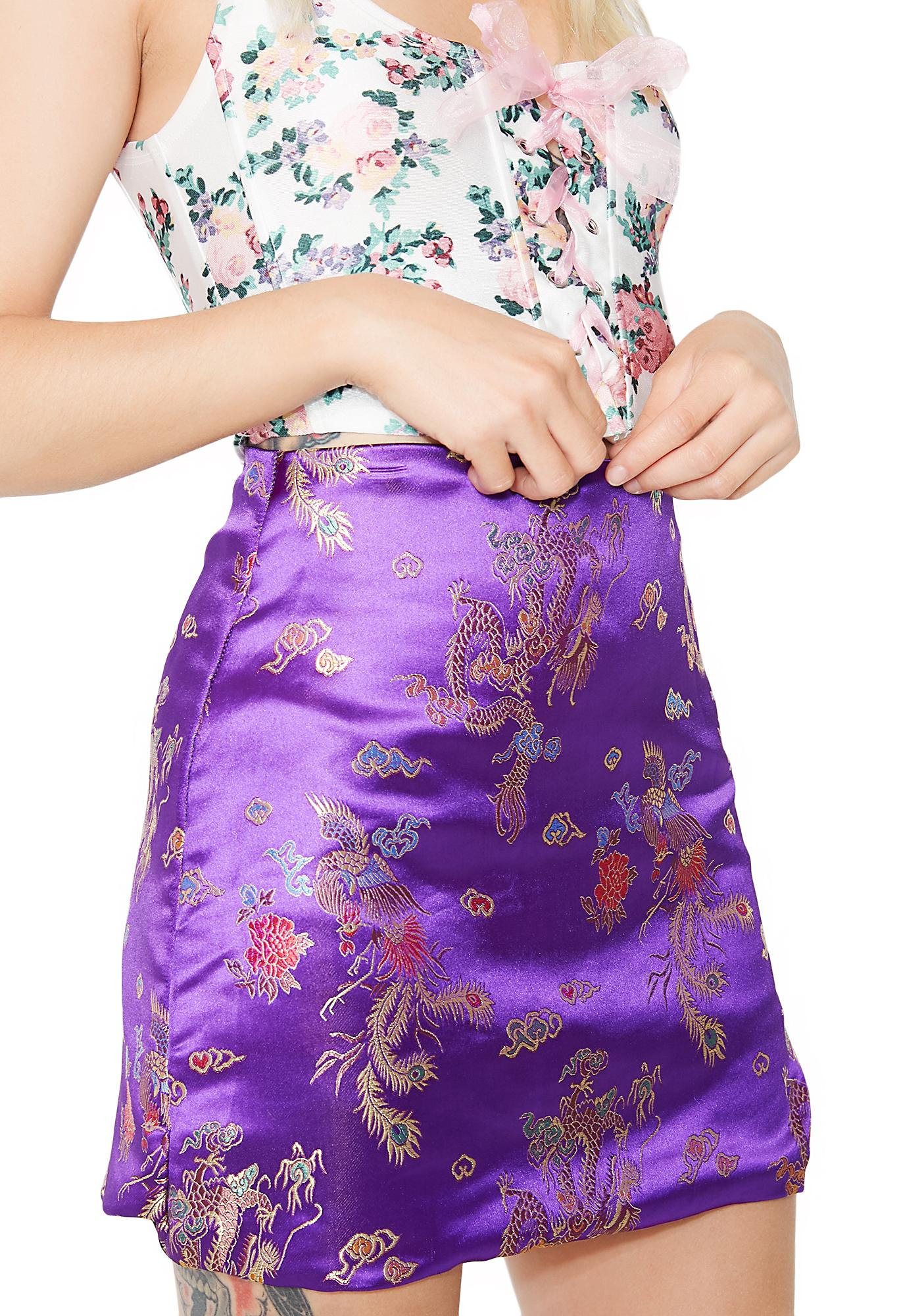 O Mighty Qiqi Mini Skirt
