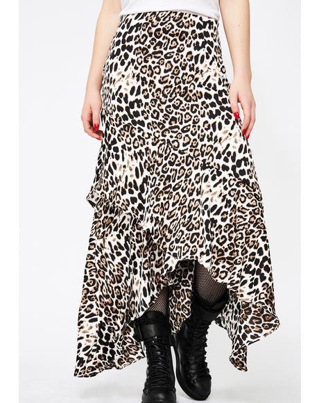 Untamed Tendencies Maxi Skirt