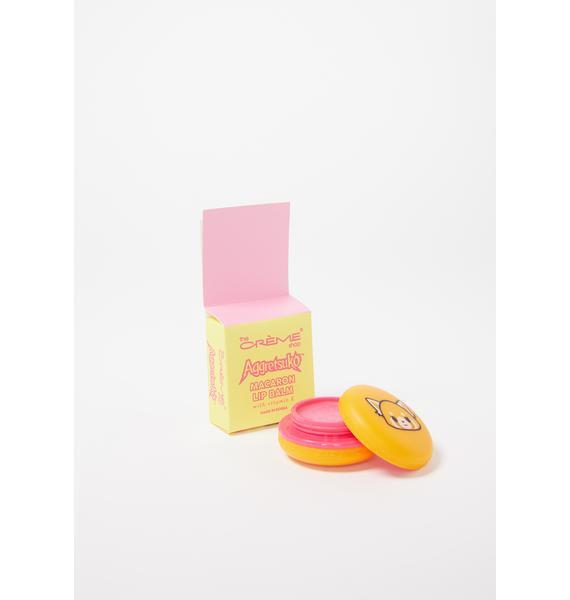 The Crème Shop Aggretsuko Raspberry Macaron Lip Balm