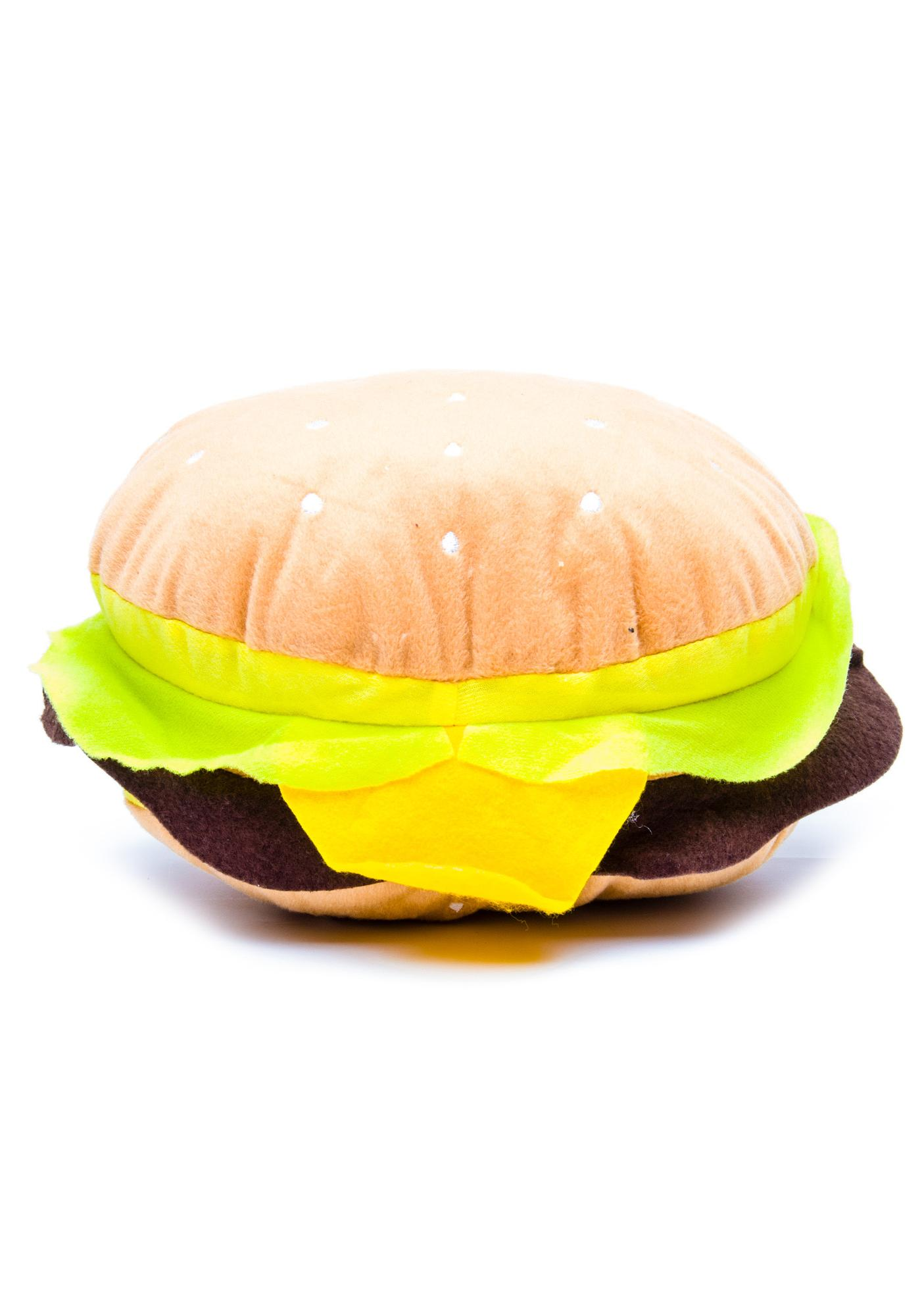 I Eatz Cheezeburger Plush Pillow