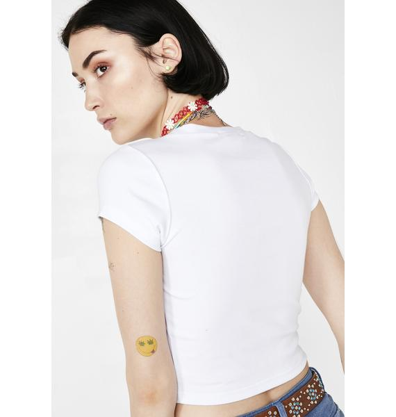 Current Mood Social Butterfly Baby Tee