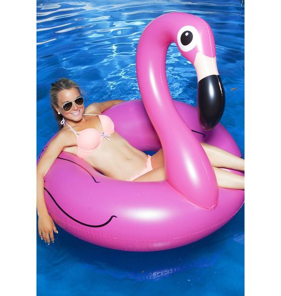 Pink Flamingo Pool Float