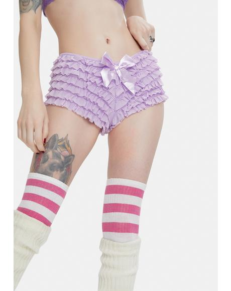 Lilac Forever Urs Ruffle Panty
