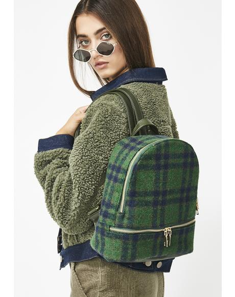 Schoolgirl Q Plaid Backpack