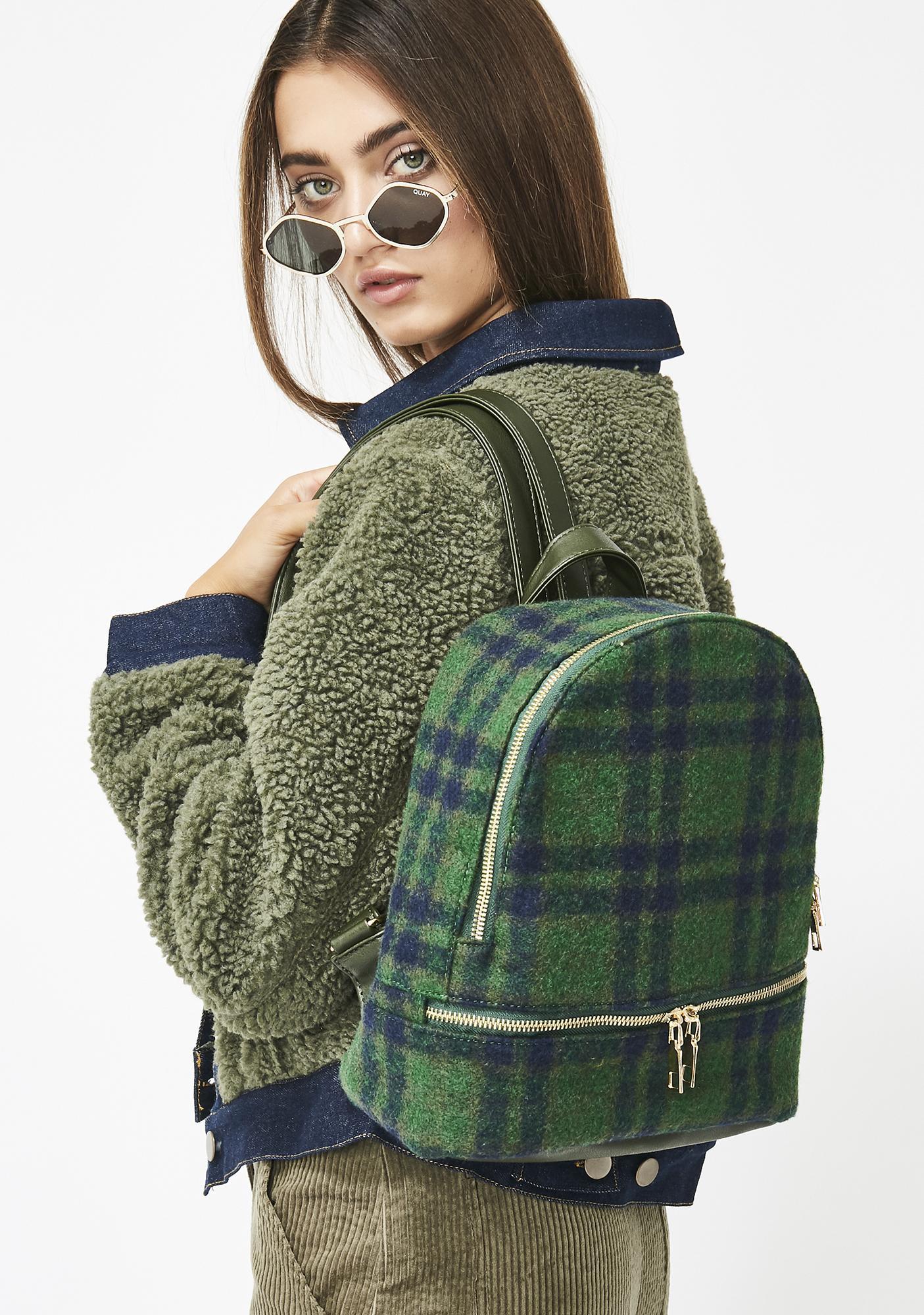 Schoolgirl Q Plaid Backpack f882a26486dcd