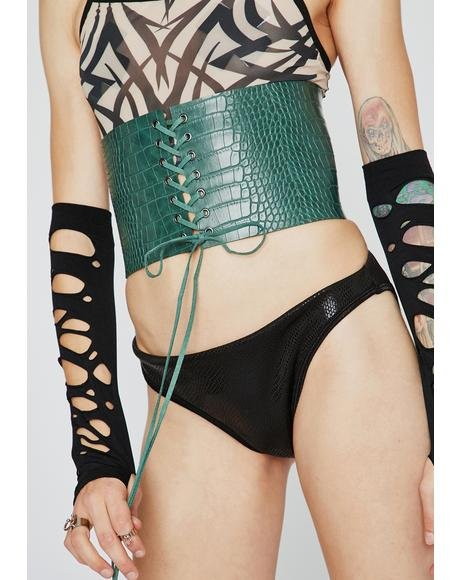 Cash What Waistline Corset Belt