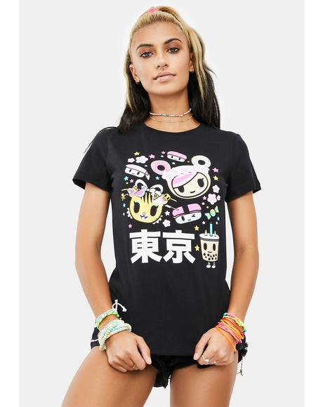 Tokyo Time Short Sleeve Graphic Tee