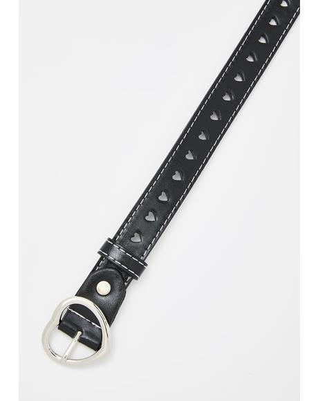 Practice Love Buckle Belt