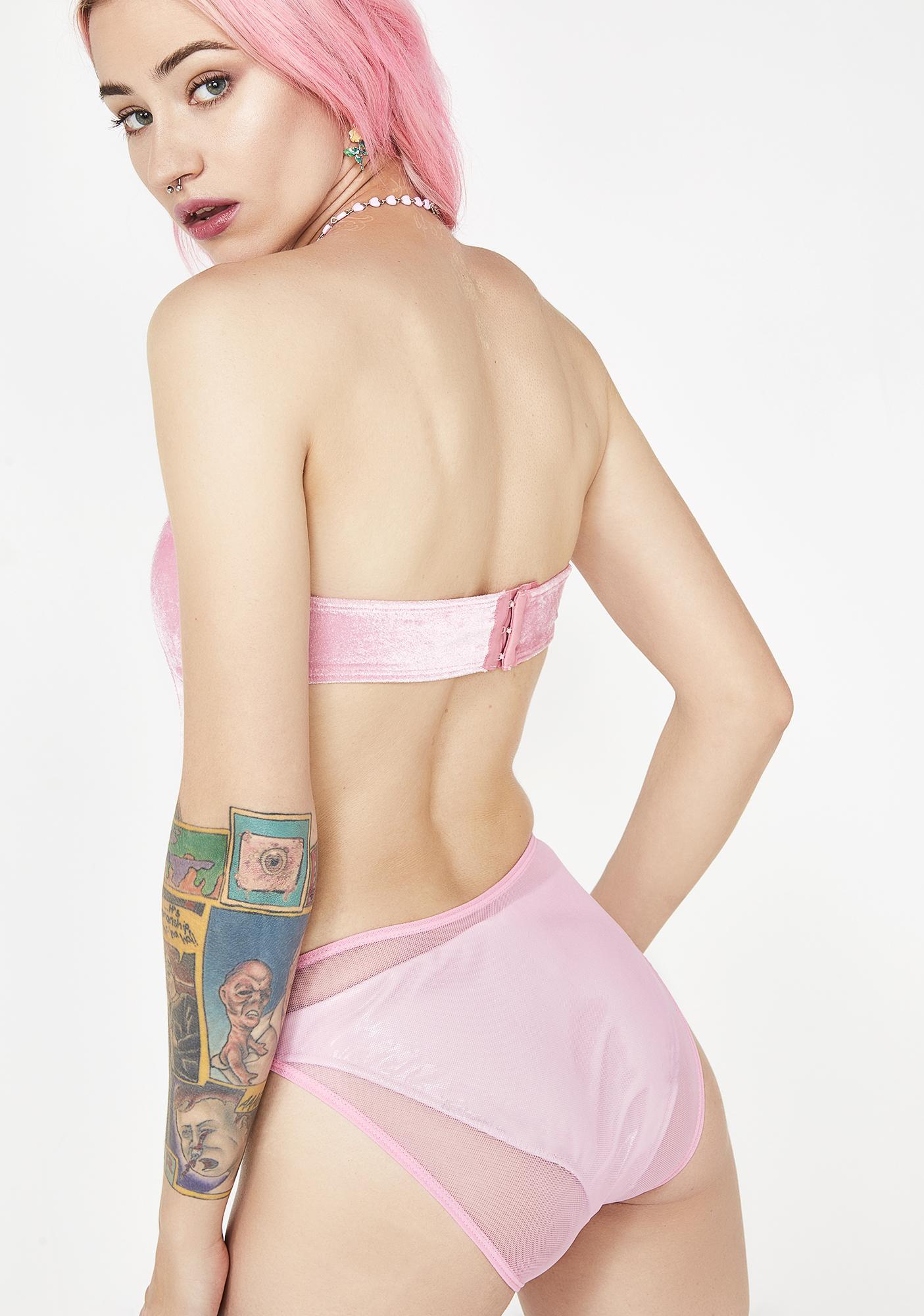 Sugar Thrillz Meltin' Hearts Velvet Bodysuit