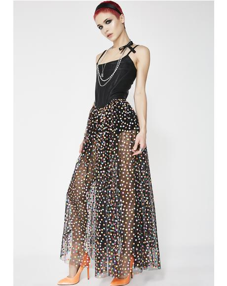 Party Princess Maxi Skirt
