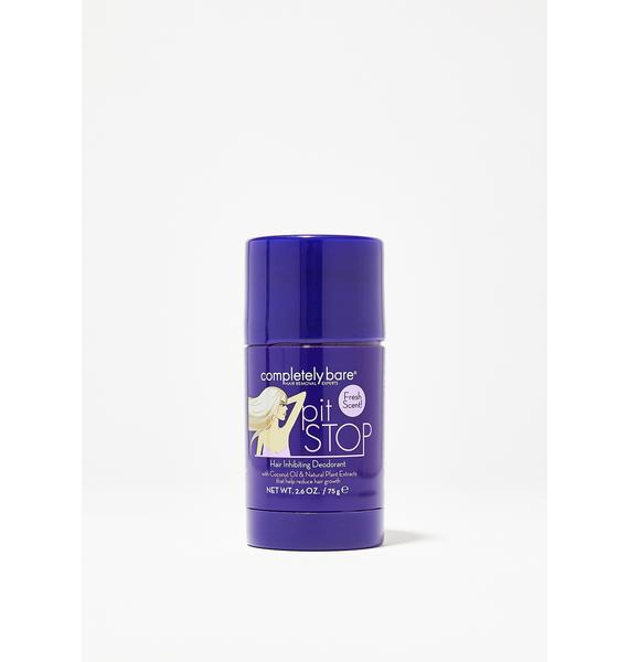 Completely Bare Pit Stop Hair Inhibitor Deodorant
