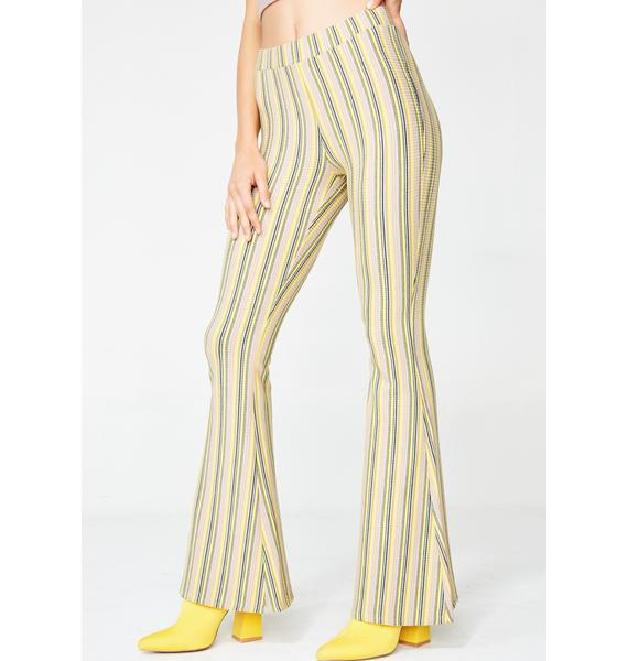 Mellow Do U BooBoo Stripe Pants