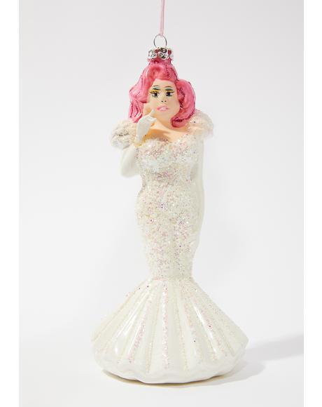 Yas Hunty Drag Queen Ornament