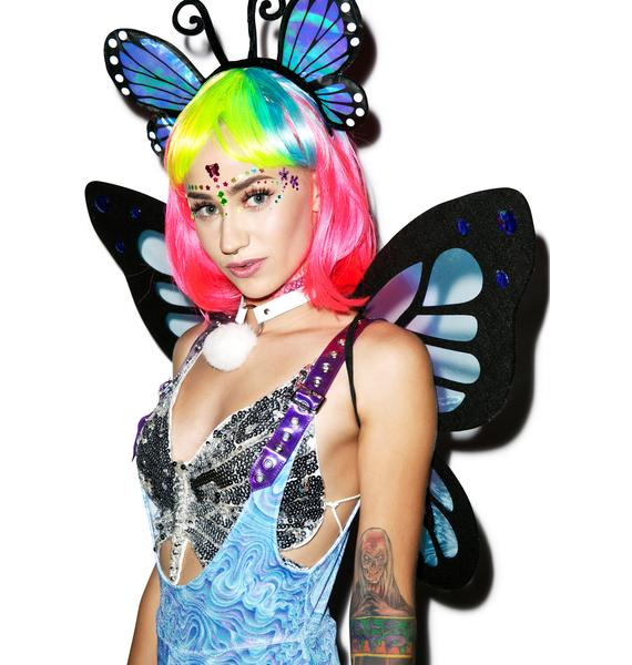 Fly High Like A Butterfly Wings