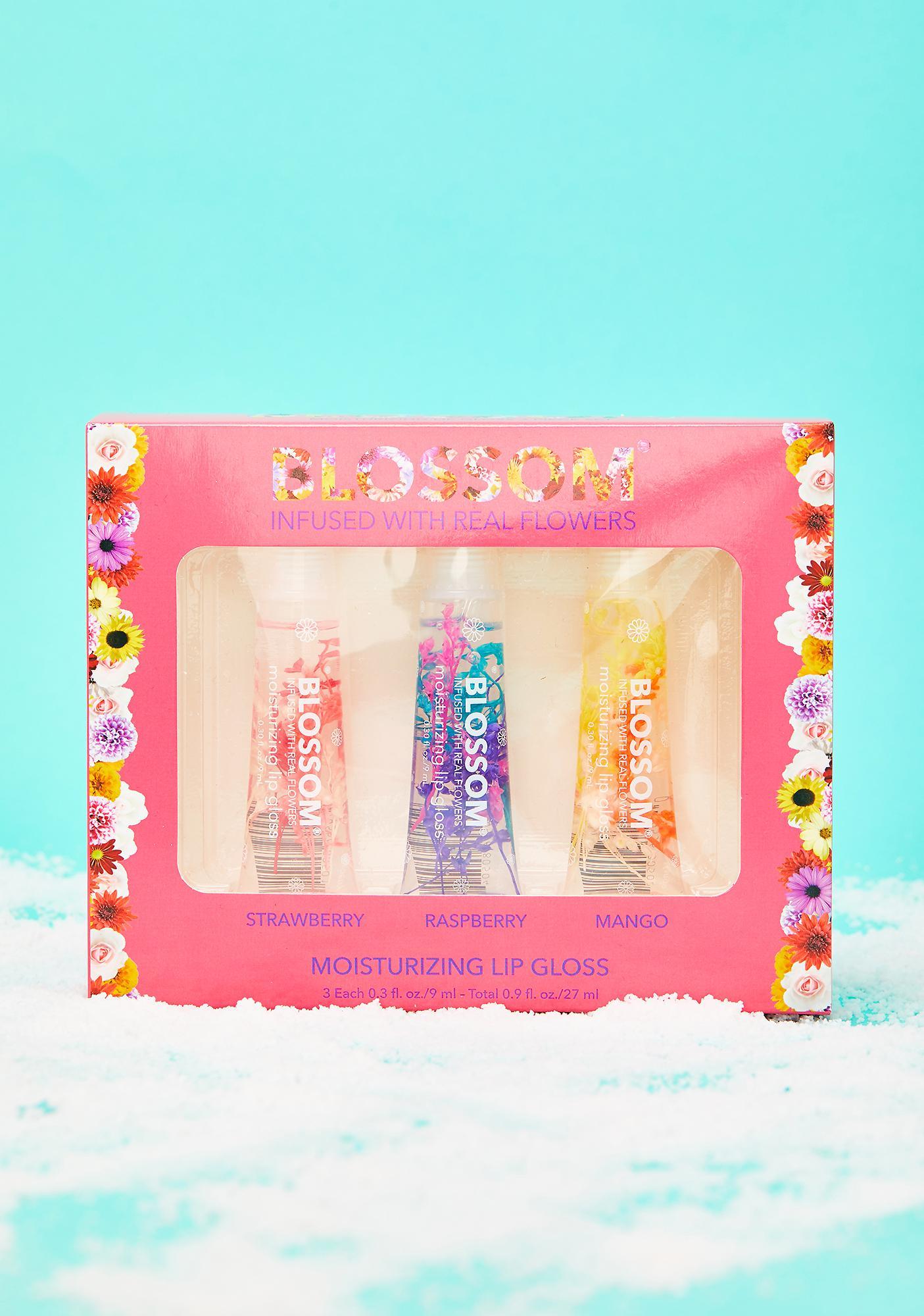 Blossom Moisturizing Lip Gloss Gift Set